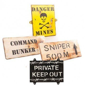 Set Of 4 Wooden Army Wall Signs - Kids Army Bedroom Signs by KAS, http://www.amazon.co.uk/dp/B006ZUWCFU/ref=cm_sw_r_pi_dp_qcAirb18Y5H1E