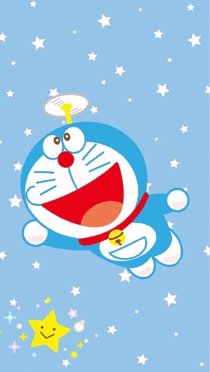 Iphone Wallpaper Doraemon Pink
