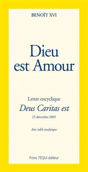 Lettre encyclique Deus caritas est, Benoît 16, Livres, LaProcure.com