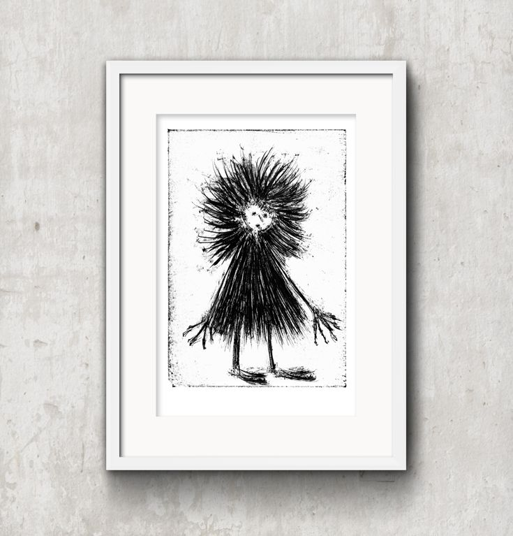 created by Konik Art Studio P.Kleszczewski konikstudio.jimdo... #etsy #konikartstudio #artprint #blackandwhiteprints #folklore #fairytales #printmaking #print #graphicartist #mythology #craft