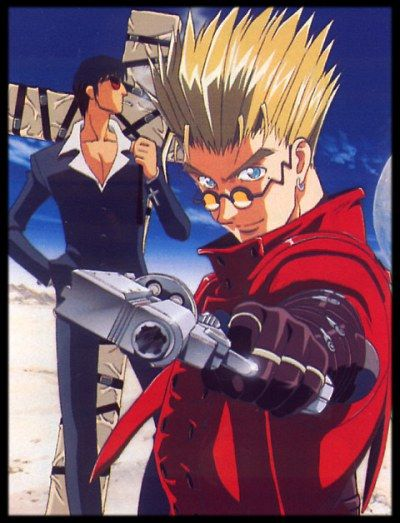 Baixar Trigun completo Dublado MP4 Torrent