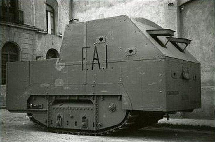 Tiznaos, самодельные броневики испанской гражданской войны   Retronaut