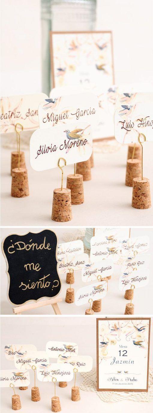 bodas DIY: corchos