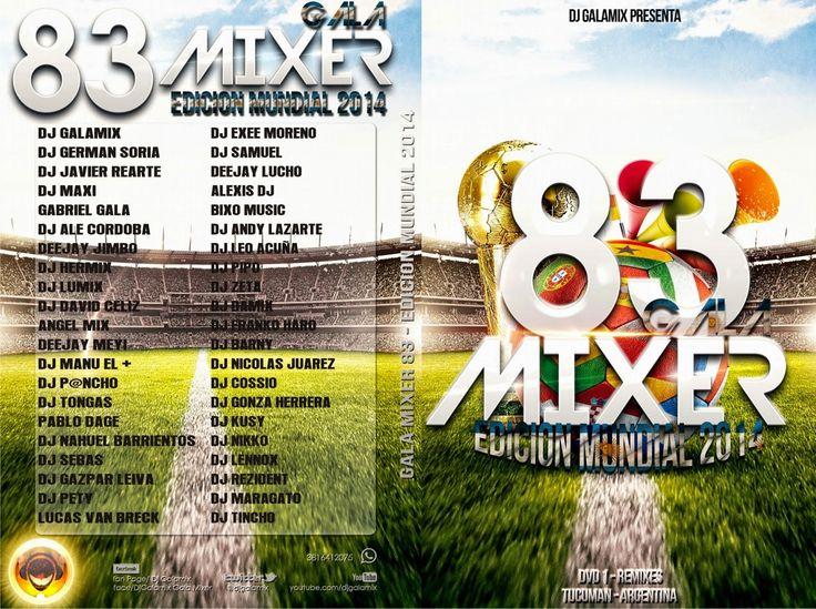 descargar pack de remix variado - GALAMIXER 83 COMPLETO DVD 1 | DESCARGAR MUSICA REMIX GRATIS