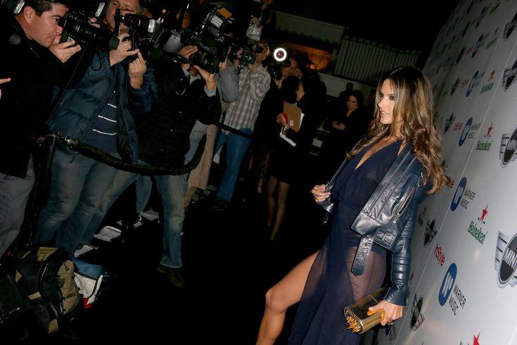 Alessandra Ambrosio - Warner Music Group 2013 Grammy Celebration Presented