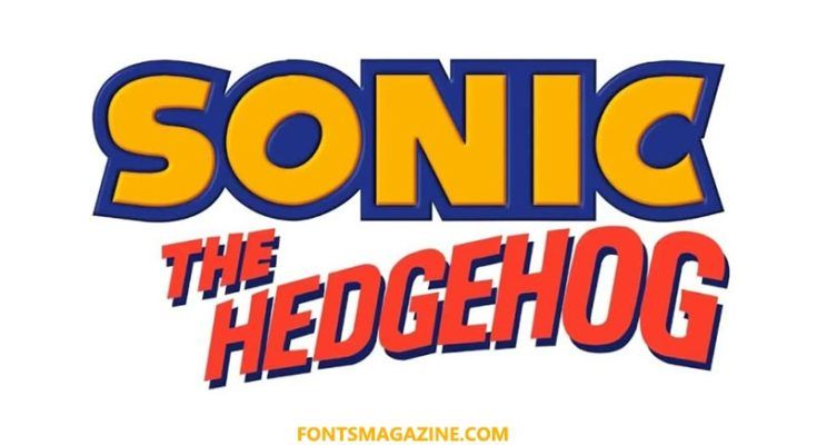 Sonic Hedgehog Font Download