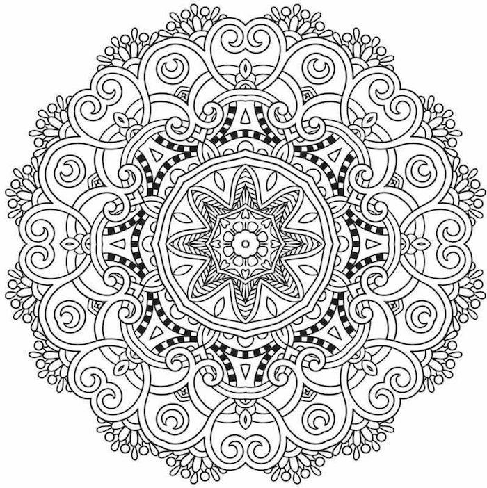 1001 Coole Mandalas Zum Ausdrucken Und Ausmalen Mandala Zum Ausdrucken Mandalas Zum Ausdrucken Mandala Vorlagen