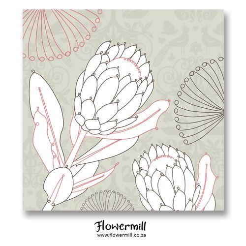 Stone Protea