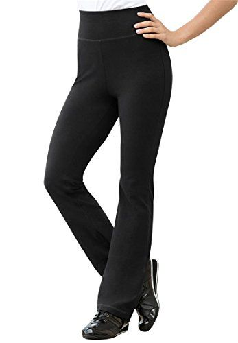 Plus Size Boot Cut Leggings