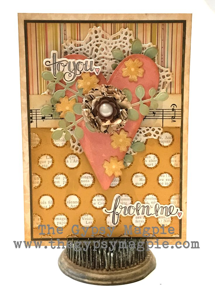 To You From Me Sweetheart Card by Terri Kolte featuring stamps and dies by Tammy Tutterow for Spellbinders.   | www.tammytutterow.com
