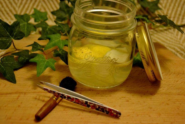 Recette d'un remède naturel fait maison contre les verrues