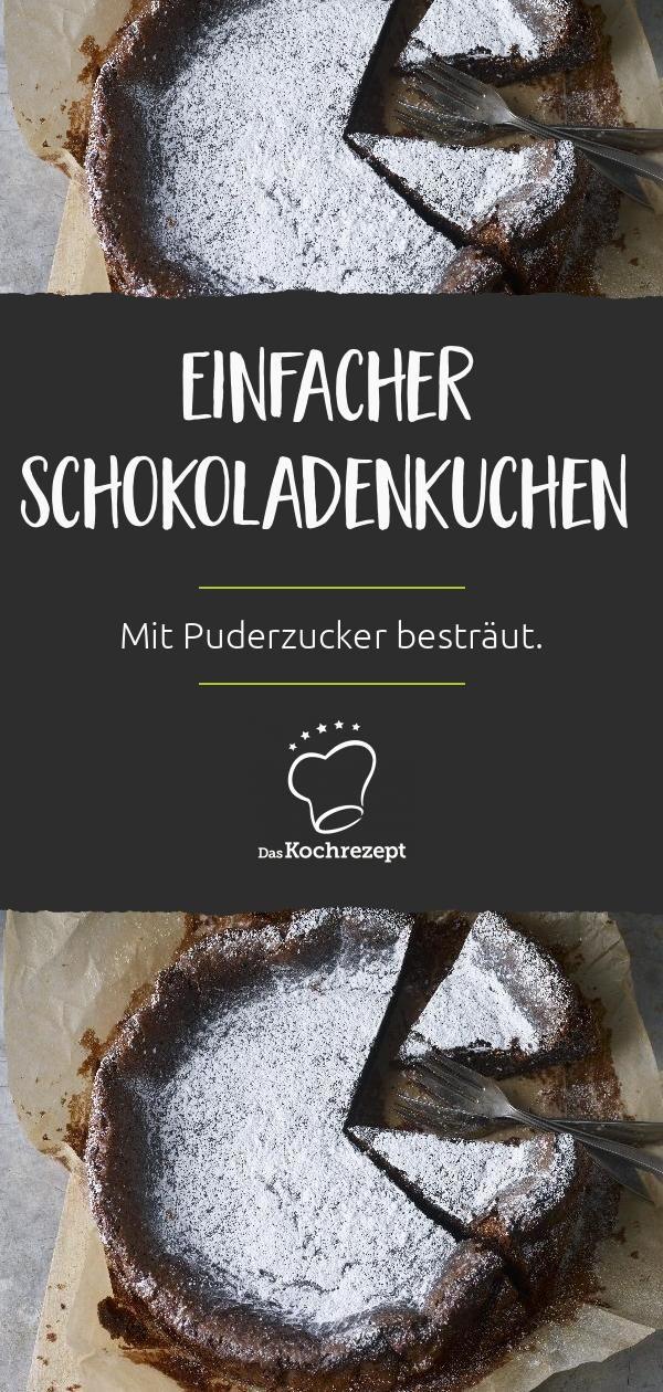 Schokoladenkuchen schnell und einfach