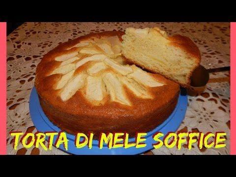 TORTA DI MELE SOFFICE E GUSTOSA - NUNZIA VALENTI - YouTube