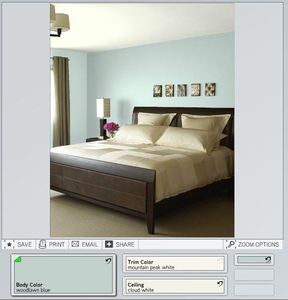 1000 ideas about woodlawn blue on pinterest benjamin. Black Bedroom Furniture Sets. Home Design Ideas