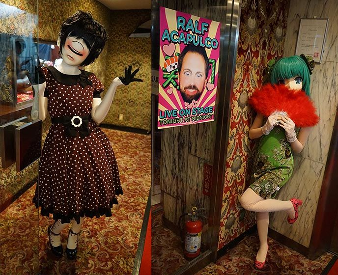 Our Crazy Japan Travel Tv Show Filming Duell Um Die Welt Host Steven Gatjen In Tokyo Joko Und Klaas Department H La Carmina Blog Alternative Fashion G Weird Japan