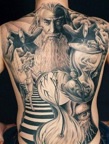 Guerrilha Nerd: Tatuagens nerds que são verdadeiras obras de arte [34 Fotos]