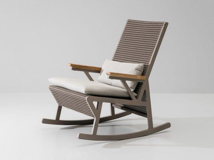 Wonderful Kettal Vieques Rocking Chair. Modern Outdoor ...