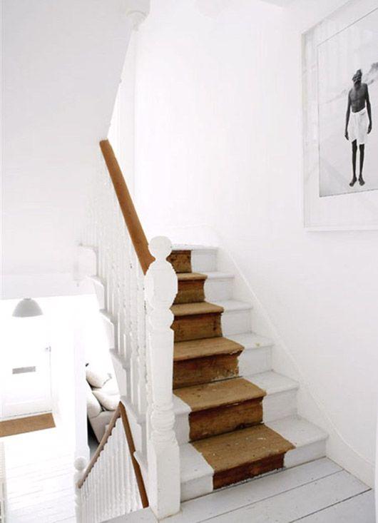 half painted stairs by U.K.-based photographer Paul Massey / sfgirlbybay