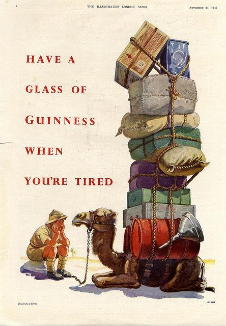 Vintage Guinness Ad