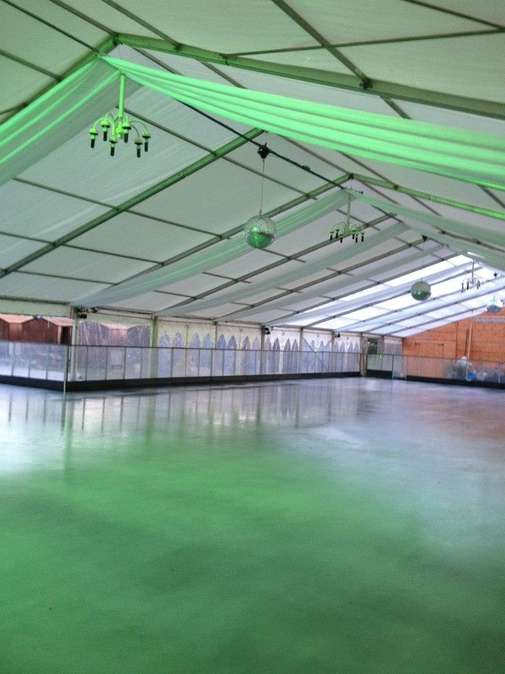 Windsor ice rink is looking fabulous! We can't wait to go skating ...