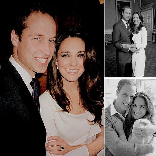 William and kate dating years