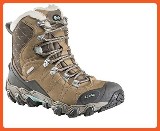 """Oboz Bridger 7"""" Insulated BDry Hiking Boot - Women's Tan 7 - Boots for women (*Amazon Partner-Link)"""