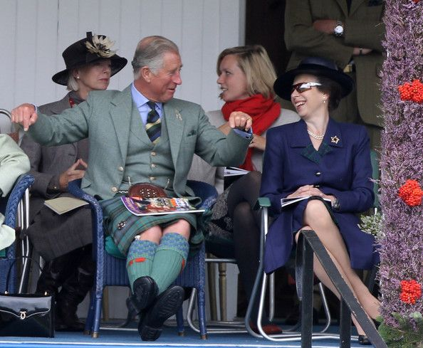 Princess Anne and Princess Royal Anne Photo - The 2010 Braemar Highland Games