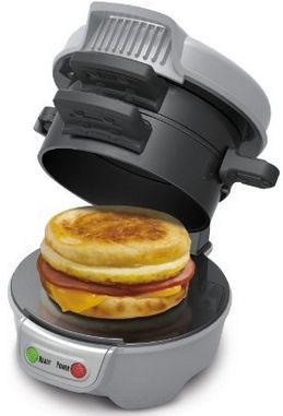 Hamilton Beach 25475A Breakfast Sandwich Maker - $19.99, plus $5 mail-in rebate!