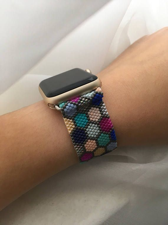 Mermaid Beaded Apple Watch Band Apple Watch Bands Apple Watch