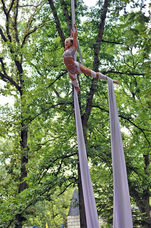Aerial Silks- always wanted to get into this.
