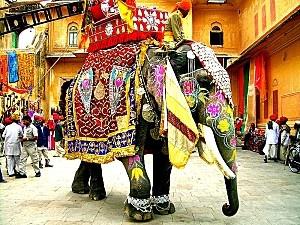 Léléphant sacré