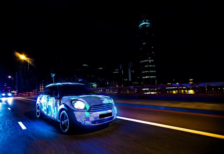 Light years ahead. Relive MINI Art Beat's brightest moments on MINI Space.