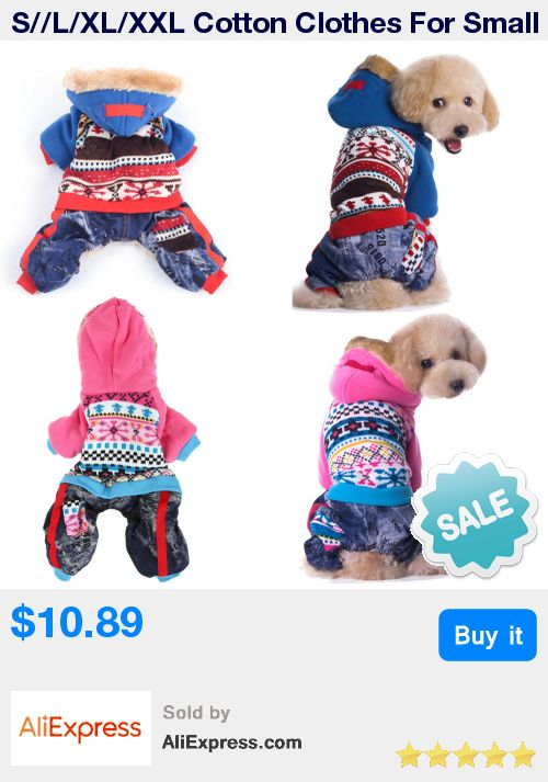 S//L/XL/XXL Cotton Clothes For Small Dogs Winter Puppy Pet Dog Clothes Waterproof Medium Large Dog Coat Jacket  * Pub Date: 08:26 Jul 3 2017