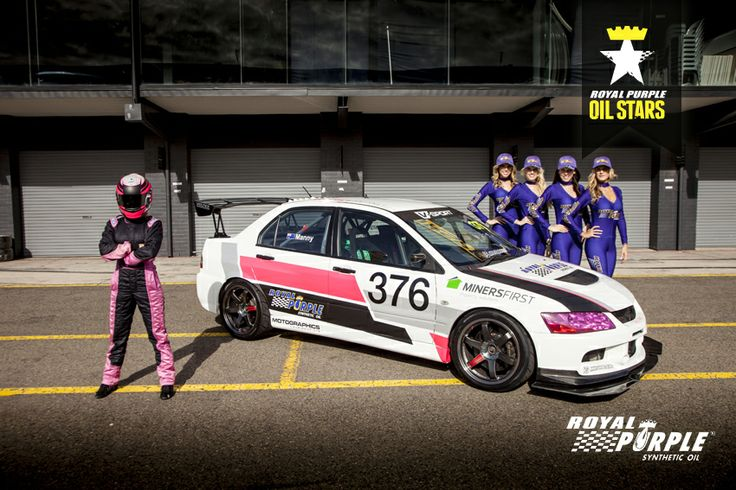 Royal Purple Oil Star - Yolanda Manny / Hi Octane Racing / EVO