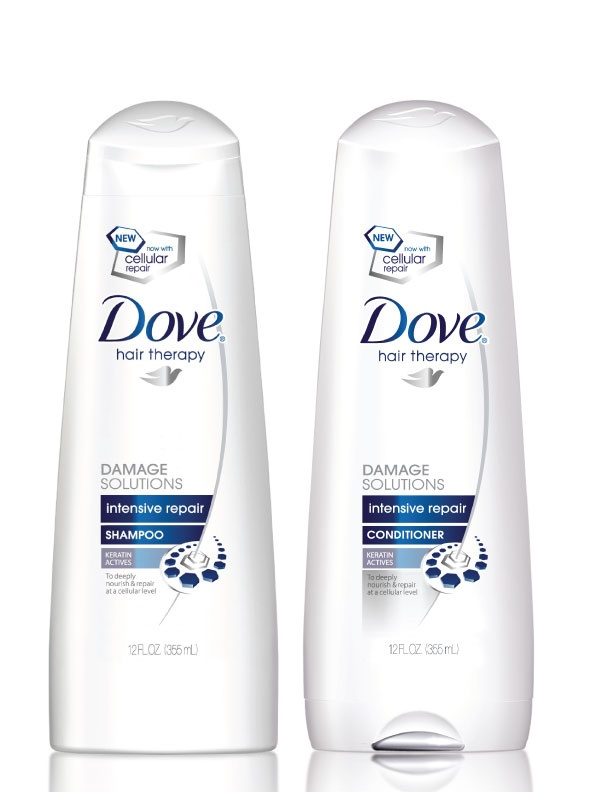 If your hair is damaged, Dove® Celebrity Stylist Mark Townsend recommends the NEW Dove® Intensive Repair Shampoo & Conditioner; it nourishes and strengthens hair to help prevent split ends and leave hair smooth for a woman's big day! www.dove.us/..