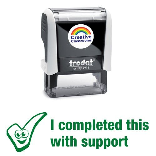 I completed this with support Stamp
