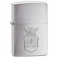Zapalniczka Zippo Air Force Crest Emblem, Brushed Chrome