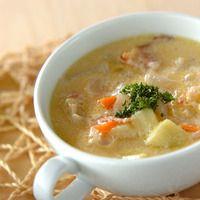 たっぷり野菜のスープで、お腹が喜ぶ献立をはじめよう。あったか「野菜スープ」のレシピ♪