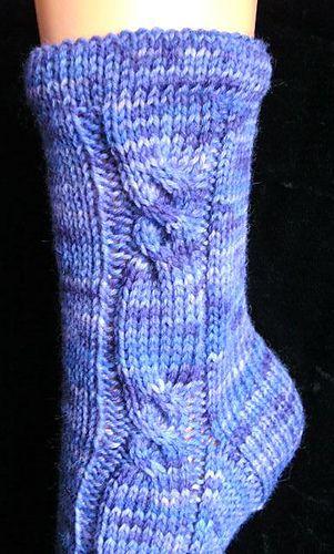 Free sock pattern on Ravelry