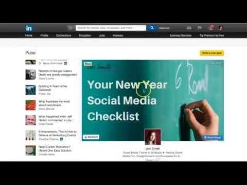 How To Publish Your Blog Posts & Articles on LinkedIn