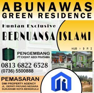 Abunawas Green Residence Hunian Exclusive