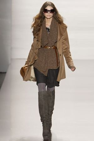 An easy, breezy perfectly layered look from Elie Tahari Fall 2010. This will be my go-to outfit for winter weekends! by msochic