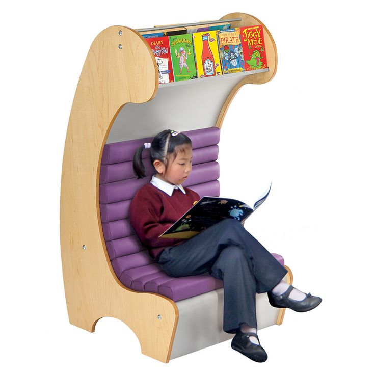 A mini version of our hugely popular Reading Hideaway. It has the same wow factor and exciting curves as the bigger version but combines them into a smaller package for libraries with less space. Children will love the unusual shape and the secret space. The cushion is wipe-clean vinyl and can seat up to 2 children.