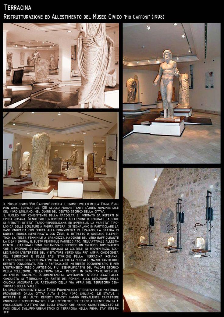 Restauro ed Allestimento Museo Archeologico di Terracina - Arch.R.Pinci _Arch.P.Vigilante, Terracina, Roberto Pinci