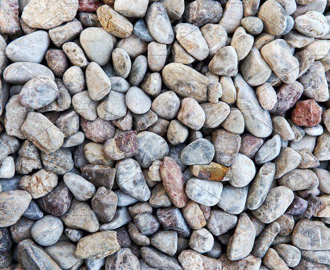 Color pebble stone in background  by Elgreko on @creativemarket