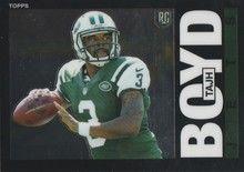 2014 Topps Chrome Football 1985 #17 Tajh Boyd - New York Jets