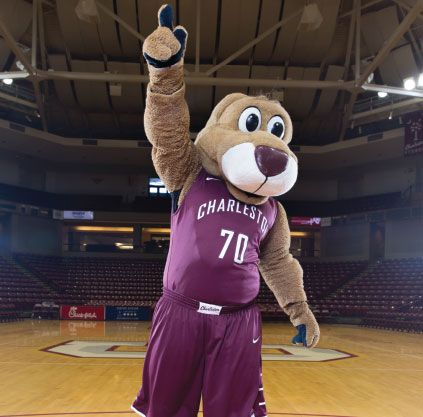Clyde the Cougar, College of Charleston