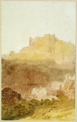 Durham Castle by  Joseph Mallord William Turner