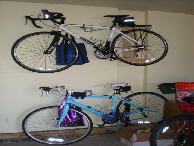wall mounted bike rack for garage