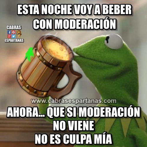 Beber con moderación es lo mejor